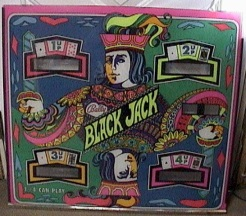 Blackjack playfield